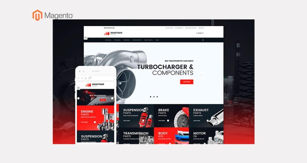 Página Web o Tienda Online@magento