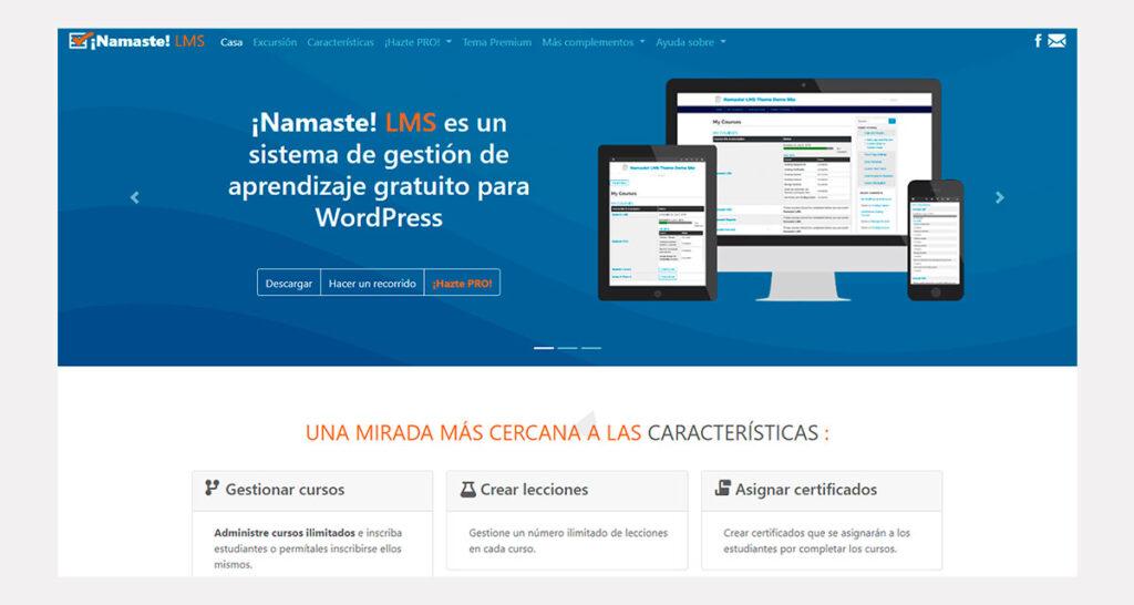 páginas web educativas y de cursos online