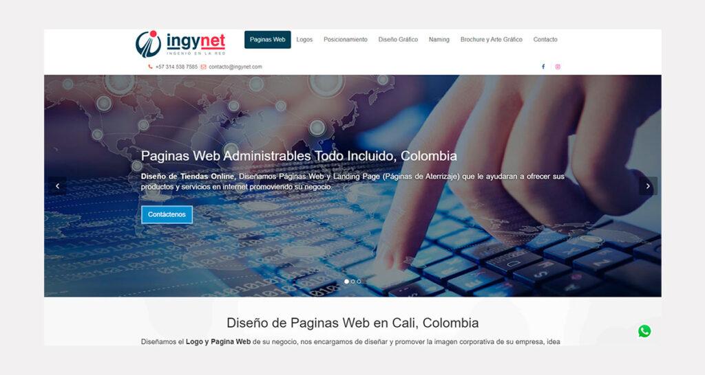 precio de diseño de páginas web en Colombia