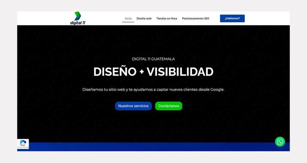 precio de diseño de páginas web en Guatemala