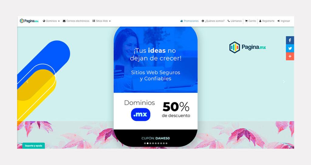 precio de diseño de páginas web en México