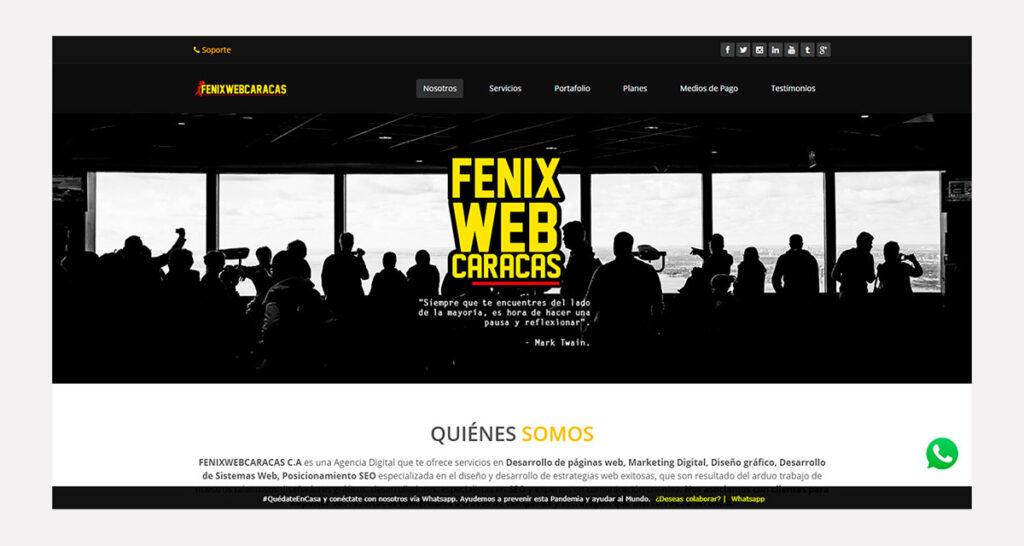 precio de diseño de páginas web en Venezuela