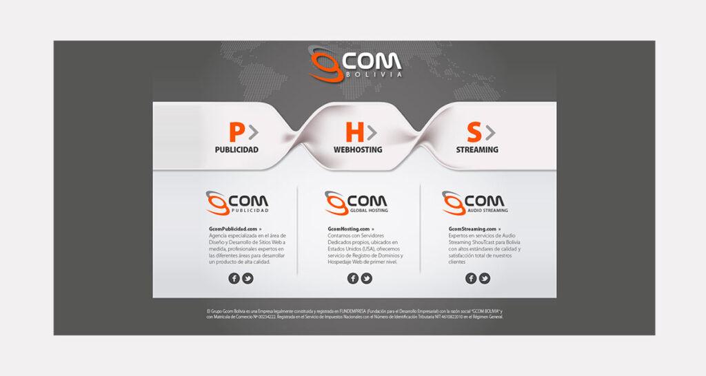 recio de diseño de páginas web en Bolivia